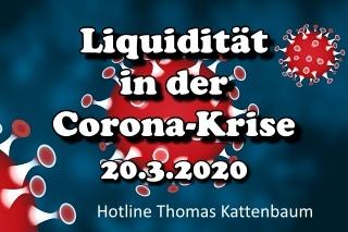 Corona-Liquiditäts-Hotline – 2